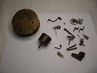 French Striking Clock Movement - Spare Parts or Restoration