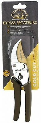 Joseph Bentley Gold Cut 0.573 lb. Bypass Secateurs