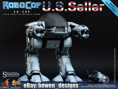 Hot Toys RoboCop 1/6 scale Movie Masterpiece ED-209 Action Figure Sound MMS 204