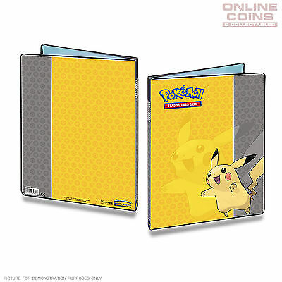 ULTRA PRO Pokemon 9 Pocket Portfolio PIKACHU A4 Holds up to 180 Cards