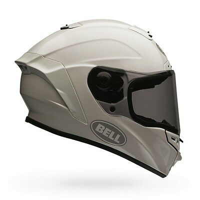 Bell Powersports Star Full Face Solid Color Helmet S White