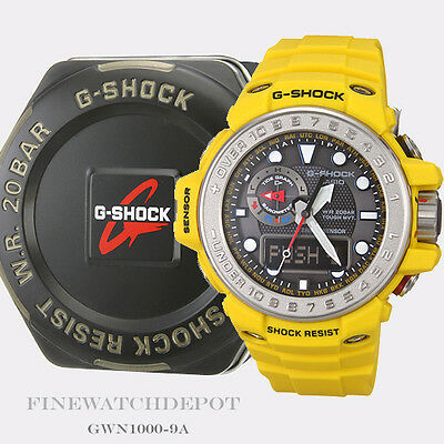 Authentic Casio G-Shock Men's Master G Series Gulfmaster Watch GWN1000-9A