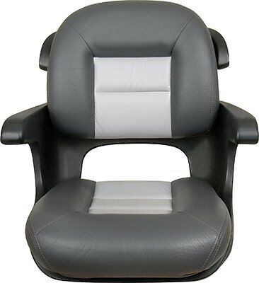 TEMPRESS Elite Low Back Helm Seat, Charcoal/Gray