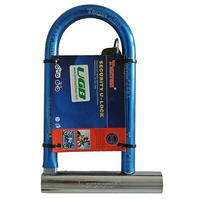Tonyon TY325 U-Lock Bike Bicycle Cycling Scooter Security Steel Lock