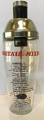 Vintage Golden Crown Cocktail Mixer Cocktail Shaker Made In Hong Kong $18