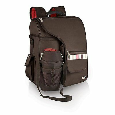 Picnic Time Turismo Insulated Cooler Backpack, Moka