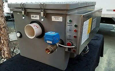 New $4300. International Grease Recovery Device ( Grd) Trap Interceptor, 25 Gpm