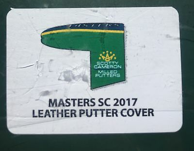 2017 Masters Augusta National Limited Edition Scotty Cameron Putter Cover Angc