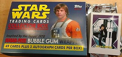 2017 Topps Star Wars 1978 Sugar-Free Wrappers Cards Complete Set *Only The Set*