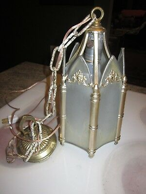 antique hall pourch hanging light fixture
