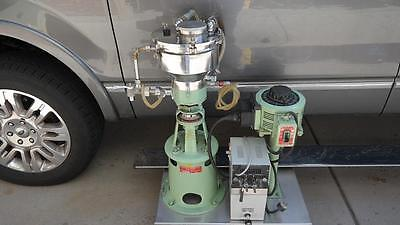 Gifford Wood Mill Colloid MICROMILL w stainless hopper & cooling coil