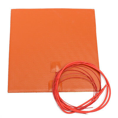 12V 200W 200mmx200mm Waterproof Flexible Silicone Heating Pad Heater For 3d Prin