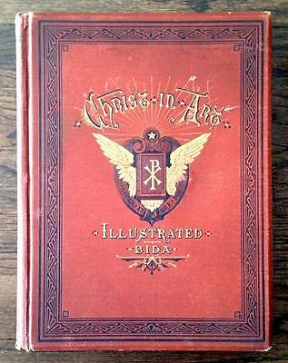 1875 Antique JESUS CHRIST 100 Victorian Engravings HOLY LAND Bible GOD Christian