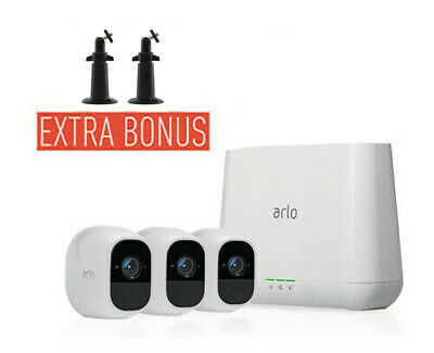 NETGEAR VMS4330 Arlo Pro Wire-Free HD Camera Security System with 3 HD Cameras