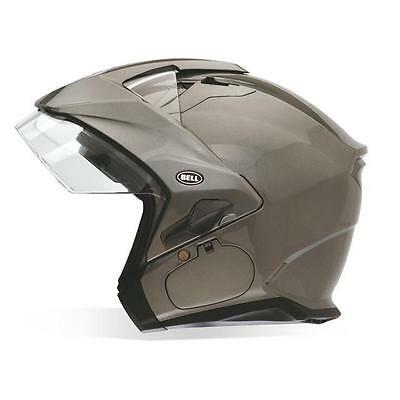 Bell Powersports Mag-9 Open Face Helmet Solid Colors Lg Titanium