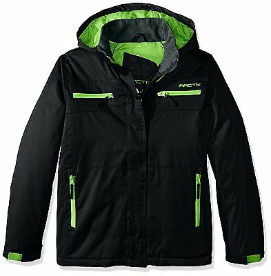 Arctix 63790-00-L Boys Cyclops Insulated Jacket, Black, Large
