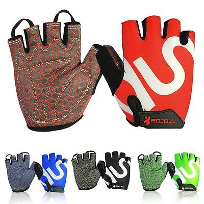 Men Sports Gloves Fitness Exercise Workout Weight Lifting Gym Training Gloves