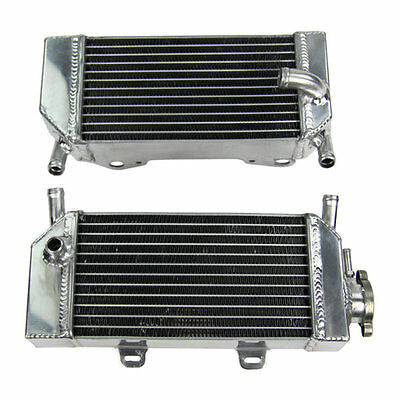 ALUMINUM RADIATOR FOR Honda CRF250 CRF250X CRF250R RACING RACE 2004 TO 2009