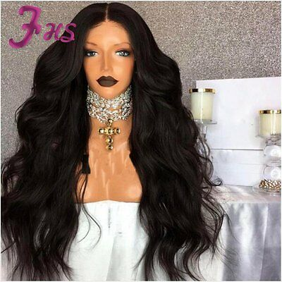 9A Peruvian Human Hair Wigs Full Lace Wig Body Wave Lace Front Wig Thick Look