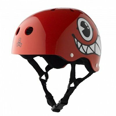 Triple Eight 712 Maloof Special Edition Helmet, Red Gloss, Medium