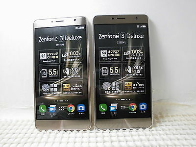 ASUS Zenfone3 Deluxe ZS550KL Non-working Display Phone 2 color set from japan