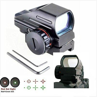 WNOSH High Version Holographic Green Red Dot Sight Sighting Scope Tactical...
