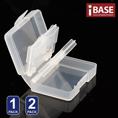8 in 1 Memory Card Holder SD SDHC Protection Stick Storage Clear Case Pro/Duo