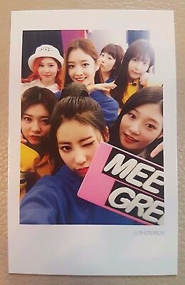 Dia D.I.A Spell MR POTTER Mwave exclusive photo card (in polaroid style) rare A1