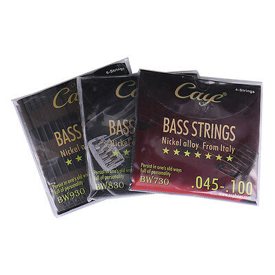 CAYE BW4/5/6/ Strings Sets Silver-plated Guitar Strings For Electric Bass Guitar