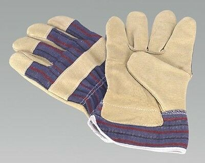 SSP12 SEALEY RIGGER'S GLOVES PAIR  [Safety Products Gloves, Rigger's] BRAND NEW!