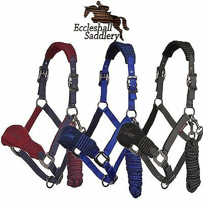 Le Mieux Vogue Fleece Headcollar and Leadrope set 2017 BNWT