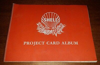Shell Project Card Album 1960's Untitled With Fauna & Australian Animals