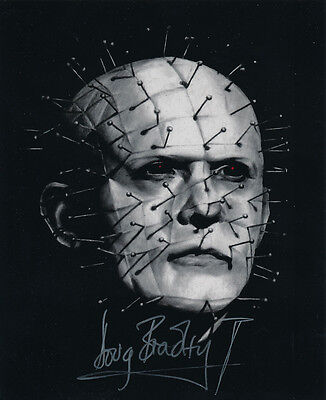 Doug Bradley SIGNED photo - Pinhead - Hellraiser - GM67