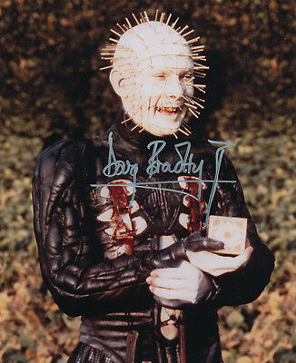 Doug Bradley SIGNED photo - Pinhead - Hellraiser - GM68