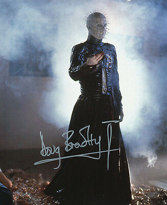 Doug Bradley SIGNED photo - Pinhead - Hellraiser - GM70