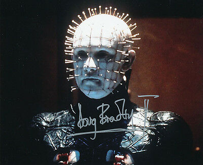 Doug Bradley SIGNED photo - Pinhead - Hellraiser - GM74