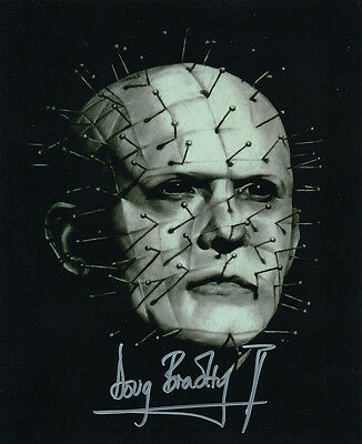 Doug Bradley SIGNED photo - Pinhead - Hellraiser - GM83