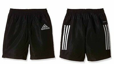 adidas Junior Boys Kids Junior Football Shorts Training Gym Climacool Sports
