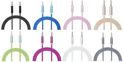 iProtect Stereo Jack Cable Klinkenkabel 3,5mm Stecker 1m Audio-Kabel AUX