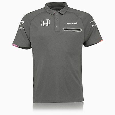McLaren Honda F1 Official Mens Team Polo Shirt - 2017