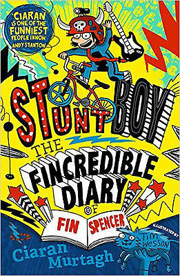 The Fincredible Diary of Fin Spencer, New, Ciaran Murtagh Book