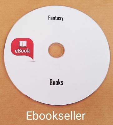 Fantasy Classic English 1500 ebooks mixed Authors in kindle &Epub format on Disc