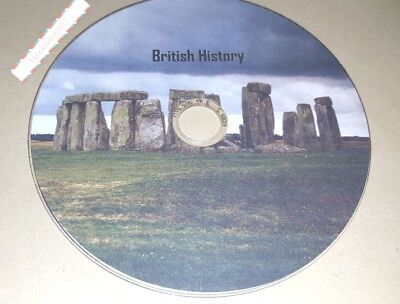 British History ebooks 1000+ mixed Authors in kindle & Epub formats on a Disc