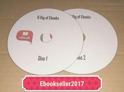 ebooks, Over 6 Gig on 2 Discs and resale rights nearly 2000 books Free UK Post
