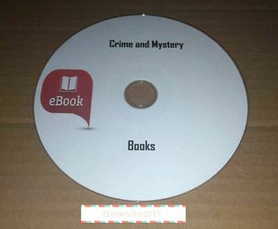 Crime and Mystery 1500 + Ebooks mixed authors in kindle & Epub format on 1 Disc