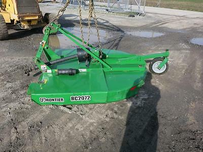 "Frontier Rc2072 Rotary Mower, 72"" Deck, 3 Point Hookup, 540 Pto,  S#60864"