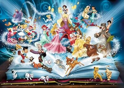 Ravensburger 16318 Disney's Magical Book of Fairies 1500 Pieces Pigsaw Puzzle