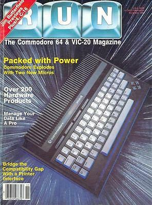 ebooks, Commodore Run Magazine 99 Issues on disc in PDF Format for PC/Laptop