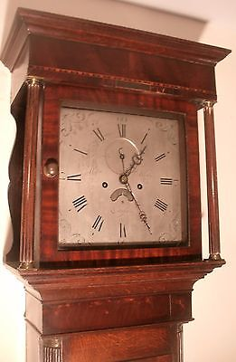 "Antique. Oak Case ."".cullumpton ""  8 Day Longcase / Grandfather  Clock"