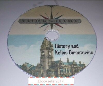 Yorkshire History 100 very old books on disc in PDF Format for PC/Laptop